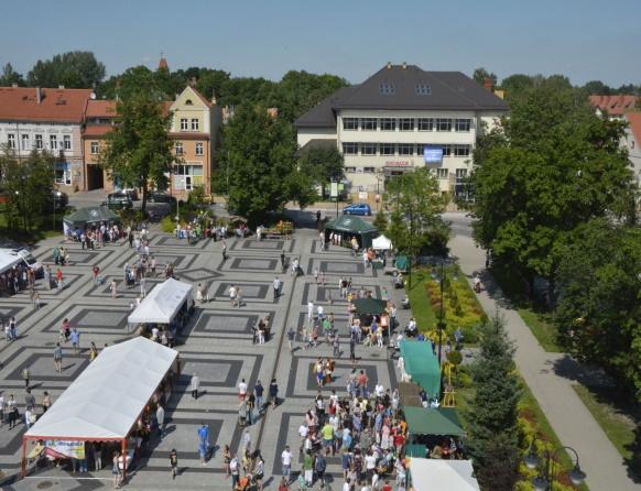 Olecko - Plac Wolności, Rynek miejski