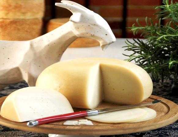 Na zdjęciu kozie sery wyprodukowane w Kozia Farma Złotna.